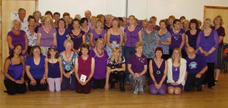 Purple Party Group Photo July 2010